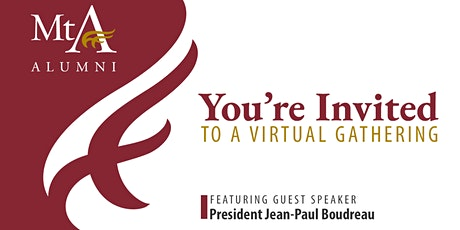 Alberta Alumni Virtual Gathering with special guest President Boudreau tickets