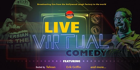 Laugh Factory Presents Live Virtual Comedy tickets