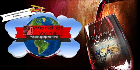 World of Wine Virtual tour of Sicily tickets
