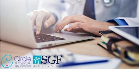 The Basics of IVF & Surrogacy -Circle Surrogacy & Shady Grove Fertility MD tickets