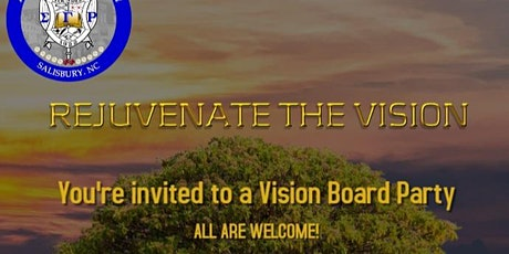 Rejuvenate the Vision: A Vision Board Party tickets