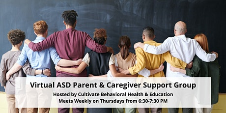 ASD Virtual Parent and Caregiver Support Group tickets
