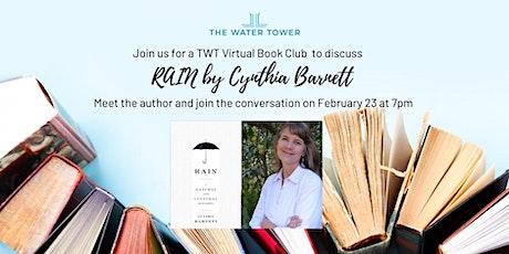 TWT Virtual Book Club presents RAIN by Cynthia Barnett tickets