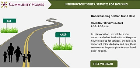 Understanding Section 8 and HASP 2/18/21 tickets