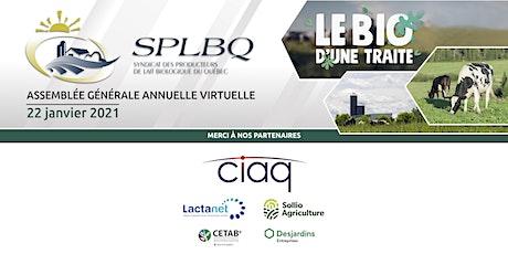 Assemblée générale annuelle du Syndicat des producteurs de lait du Québec billets