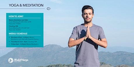 MANTRA MEDITATION tickets