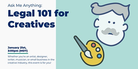 Legal 101 for Creatives tickets