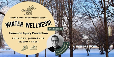 Winter Wellness: Common Injury Prevention tickets