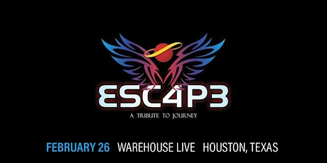 ESCAPE (A TRIBUTE TO JOURNEY) / TEXAS EAGLES (TRIBUTE TO THE EAGLES) tickets