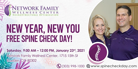Free Spine Check Day! tickets