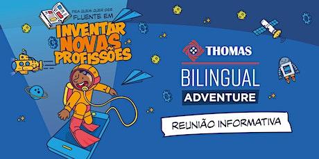 Reunião Informativa - Bilingual Adventure 2021 ingressos