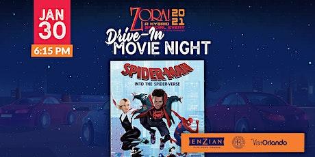 Drive-in Movie: Spider-Man Into the Spider-Verse tickets