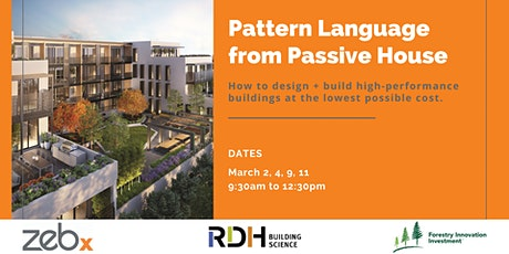 Pattern Language from Passive House tickets