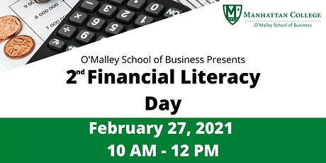 Manhattan College's O'Malley School of Business Financial Literacy Day billets