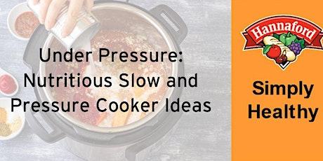 Under Pressure (Slow and Pressure Cooker Ideas) tickets