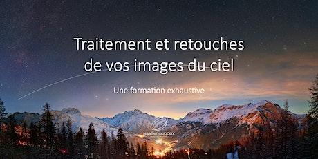Photographie de paysage nocturne - traitement, retouches des images du ciel billets