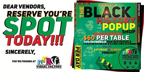 The Black History Month PopUp Shop tickets