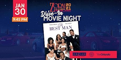 Drive-in Movie: The Best Man tickets