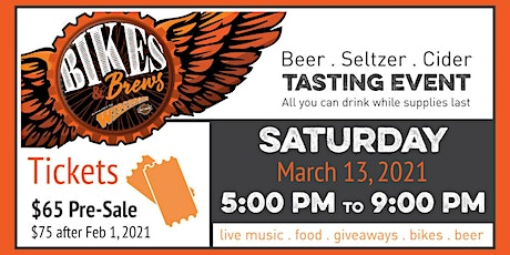8th Annual Bikes & Brews tickets
