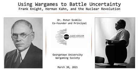 Using Wargames to Battle Uncertainty tickets