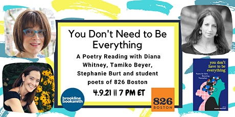 You Don't Have to Be Everything: A Poetry Reading & Discussion Tickets