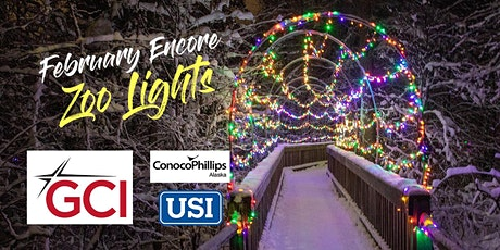 February Encore Zoo Lights 2021 tickets