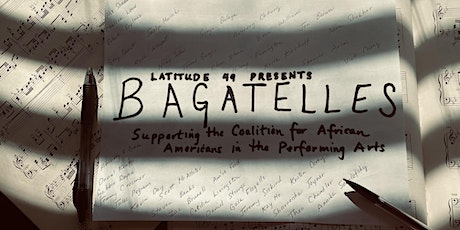 Latitude 49 Presents the Bagatelles Project tickets