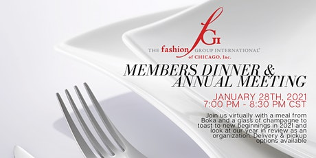 Members Dinner & Annual Meeting tickets