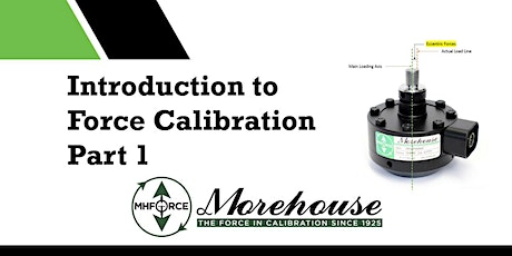 Introduction to Force Calibration, Part 1 tickets
