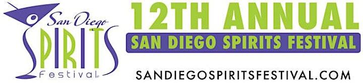 12TH SAN DIEGO SPIRITS FESTIVAL, September 11-12, 2021 image