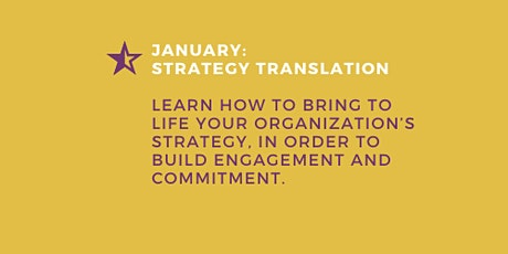 Middle Managers: How to bring the strategy to life tickets