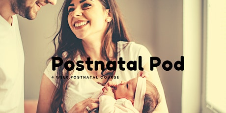 Postnatal Pod - 4 week course tickets