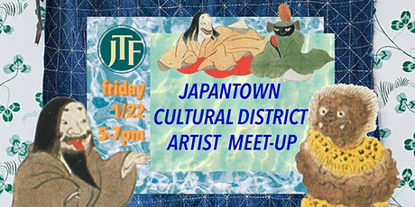 Japantown Cultural District Artist Meet-up tickets