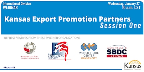 Kansas Export Promotion Partners: Session One tickets