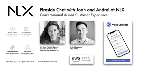 NLX Presents: Fireside Chat with Joan and Andrei tickets