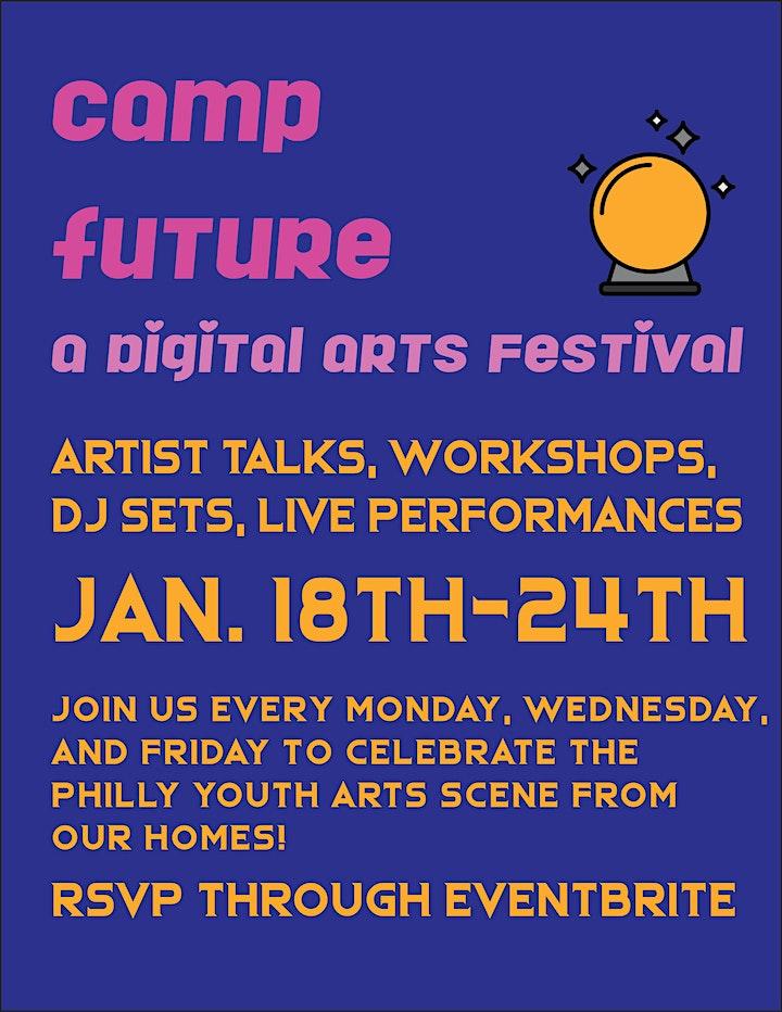 CAMP FUTURE - Digital Arts Festival image