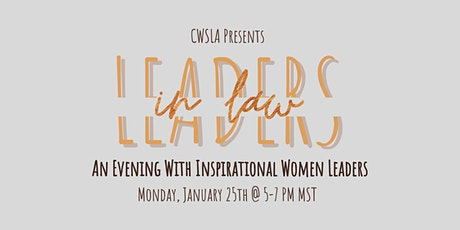 Leaders in Law: An evening with inspirational women leaders tickets