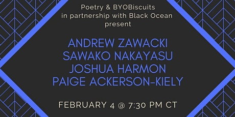 Poetry & BYOBiscuits for February tickets