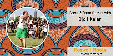 Djoli Kelen Dance and Drum Class tickets
