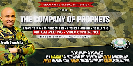 The Company Of Prophets 2021[January's Edition] tickets