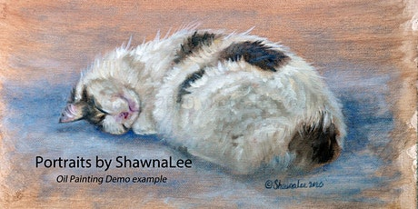 Pet Portrait Oil Painting Demonstration & Special Offer tickets