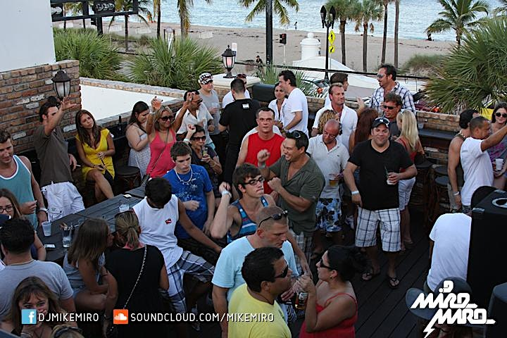 Mike Miro +Friends @ McSorley's Beach Rooftop Sunday 01/24 image