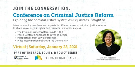 Race, Equity, Policy Series: Criminal Justice Reform Conference tickets