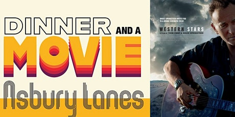 Western Stars - Dinner & Movie tickets