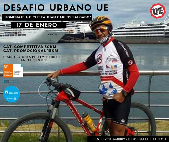 """Imagen de DESAFIO URBANO UE """"Homenaje a ciclista Juan Carlos Salgado"""""""