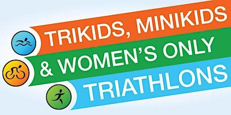 TriKids, MiniKids, & Women's Only Kinser Triathlon MCCS Aquatics May 2021 tickets
