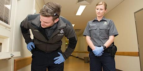 Police Custody Officer Information Session - Webinar tickets