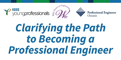 Becoming a Professional Engineer Talk tickets