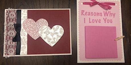Virtual Take and Make Workshop: Valentine Cardmaking tickets
