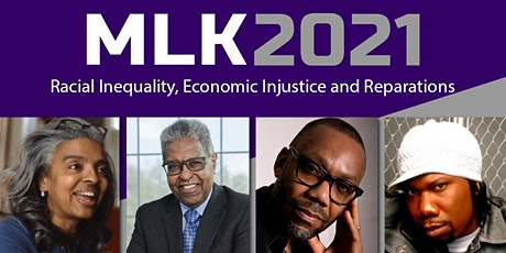 SLCC MLK 2021Panel; Racial Inequality, Economic Injustice, and Reparations tickets